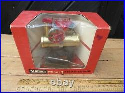 Vintage boxed Mamod Minor 1 Steam Engine. Un-Fired with burner / Instructions