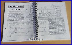 Virginia by LBSC Live Steam Model Locomotive kit instructions, drivers & rails