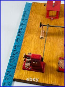 Vtg Jensen Mfg. Co. Salesman Sample Steam Engine Machine Shop Model 100 toy