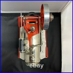 WILESCO D14 STATIONARY steam engine WITH WITH ADDITIONAL EQUIPMENT