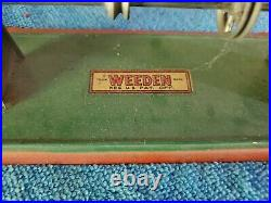 Weeden steam engine toys with original tags old