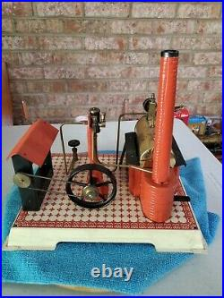 Wilesco D15 Steam engine toy. This is an old one you dont see often