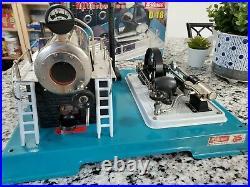 Wilesco D18 Steam Engine Germany Nice