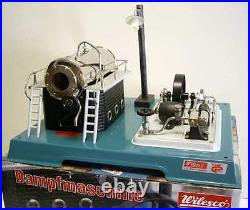 Wilesco D18 Toy Steam Engine Germany New + S&h Free