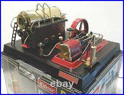 Wilesco D21 New Toy Steam Engine S&h Free! Made In Germany