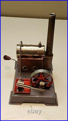 Wilesco D4 Steam Engine with Box