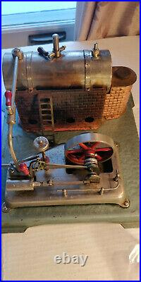 Working Jensen Model 75 Toy Steam Engine with accessories and spare parts